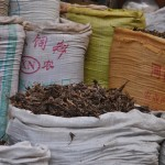 Lots of spices are traded on the street