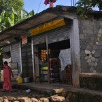 A typical shop for cold drinks and snacks