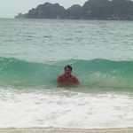Swimming on Ko Phi Phi