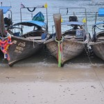 Long Tail Boats on Ko Phi Phi