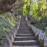 Stairs to the Top of the Phou Si
