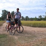 Bicycle trip to the Somphamit Waterfalls