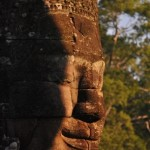 A face of Bayon Temple