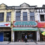 Old Chinese Shophouses in KL