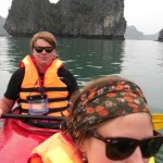 Kayaking, Halong Bay