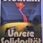 Solidarity poster from the GDR during the Vietnam War