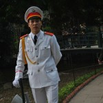 Guard at Ho Chi Minh's Mausoleum