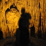 The huge cave