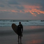 Coming home from a day surfing